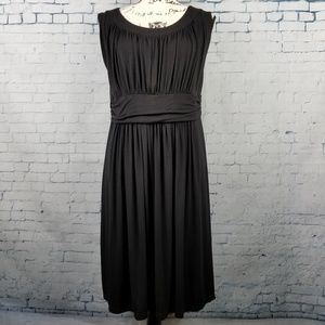 Modcloth Love Your Jersey Knit Ruched Dress Sz 1X